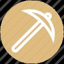 farming, farming tool, gardening tool, spade, spade tool icon
