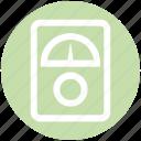 analog device, gauge, gauge meter, meter, pressure gauge, speedometer