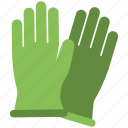 construction gloves, gloves, hand protection, rubber gloves, safety gloves icon