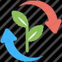 eco energy development, ecology concept, energy progress, power generation, recycle energy icon