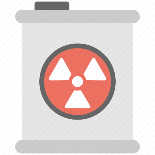 radioactive material, radioactive warning, toxic sign, toxic waste, waste barrel icon