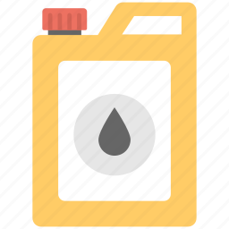 chemical gallon, fuel canister, oil container, petrol gallon, petrol jerry can icon