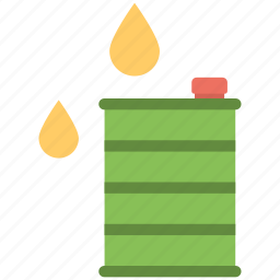 fuel container, fuel drum, oil barrel, oil can, oil container icon