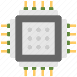 circuit board, computer electronics, cpu microchip, electronic component, power bank icon