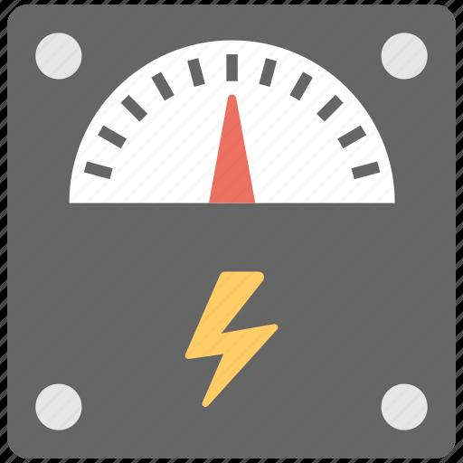 pressure gauge, pressure measurement, pressure meter, speed gauge, speedometer icon