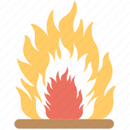 burning flame, camping fire, fire, fire flame, fireplace, flame icon