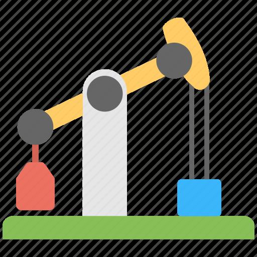 drilling rig, oil industry equipment, oil pumpjack, oil well pumpjack, pumpjack icon