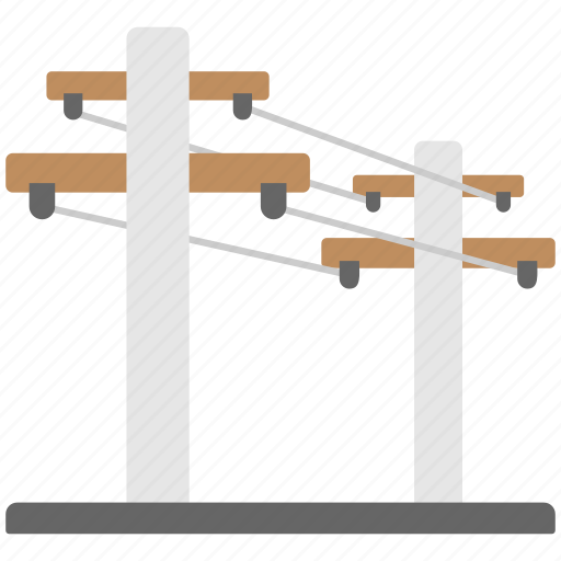 electric power pylon, electric pylon, electric tower, high voltage tower, power mast icon