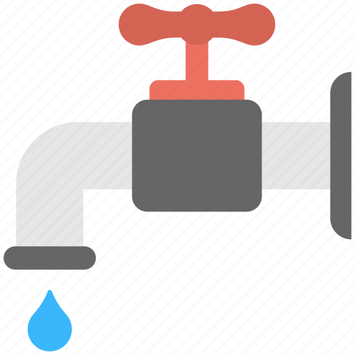 faucet, plumbing, spigot, tap, water supply icon