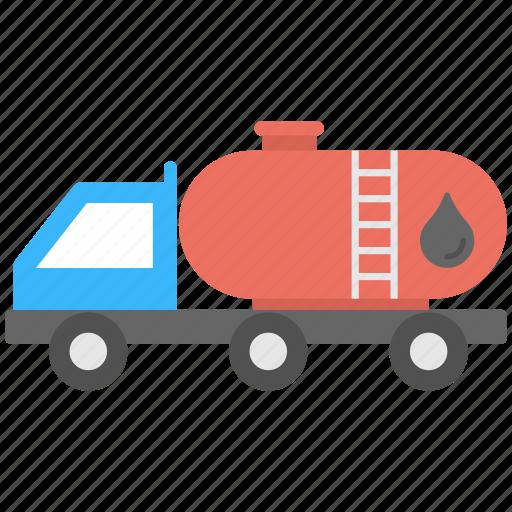 fuel tanker, fuel transport, oil storage, petrol tanker, petroleum tank icon