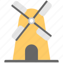 aerogenerator, whirligig, wind energy, wind mill, wind power icon
