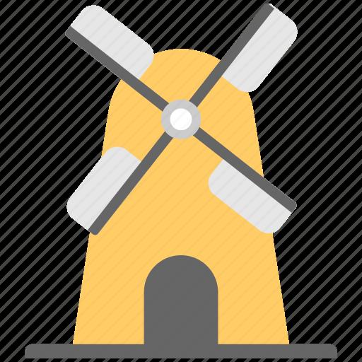 aerogenerator, whirligig, wind energy, wind mill, wind power icon