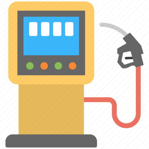 filling station, fuel pump, gas station, petrol pump icon