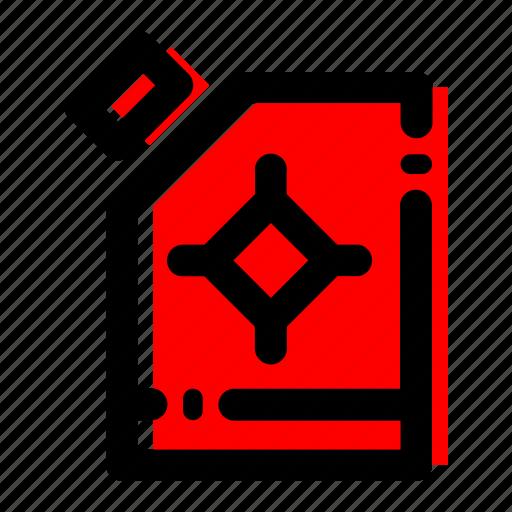 biofuel, jerrycan icon icon