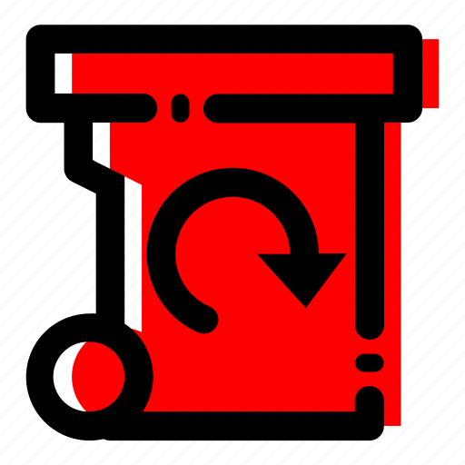 recycle, trash, waste reduction, waste reduction icon icon