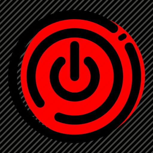 power, recycle, saklar, trash, waste reduction, waste reduction icon icon