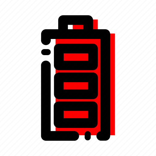 battery, energy, power icon icon