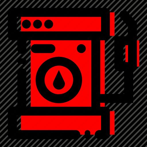 gas pump, gas station icon