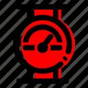 energy, pressure meter icon icon
