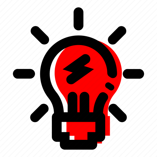 bulb, energy, idea, lamp, light icon icon