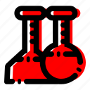 chemical, laboratorium, labs icon icon