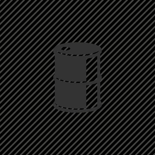 barrel, bensin, fuel, illustration, metal, oil, oilcan, reflect icon