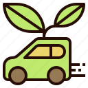 car, clean, eco, energy icon