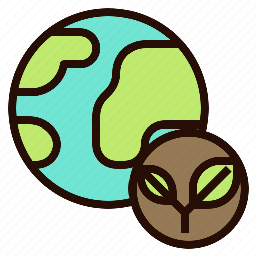 eco, energy, green, planet, save, world icon