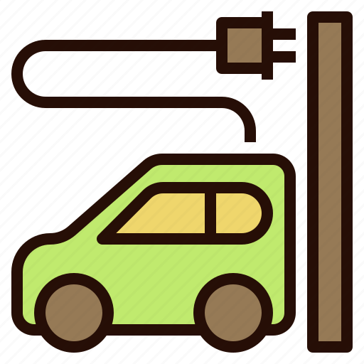 car, clean, eco, electric, energy icon