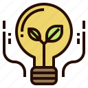 alternative, clean, eco, energy, green icon