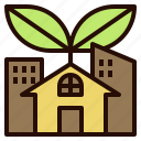 community, eco, energy, green, power, technology icon