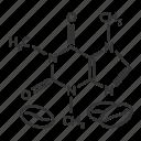 caffeine, formula, compound, chemical