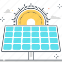 clean, ecologic, environment friendly, green energy, renewable energy, solar energy panel, sun icon