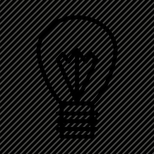 bright, bulb, electric, lamp, light icon