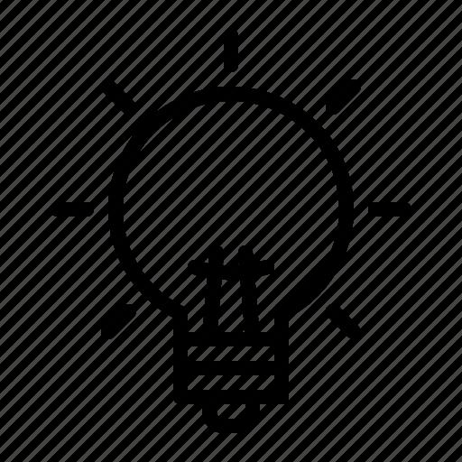 bulb, creative, idea, innovation, solution icon