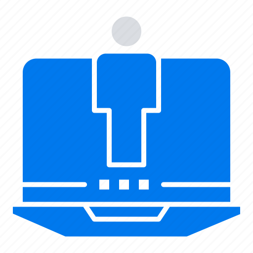 computer, hardware, laptop, service icon