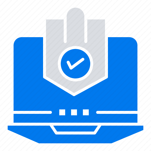 Antivirus, computer, internet, laptop, protected, protection, security icon - Download on Iconfinder