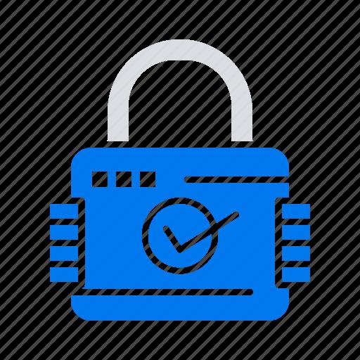 lock, padlock, secure, security icon