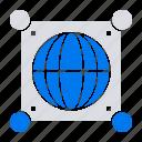 global, globe, world, science