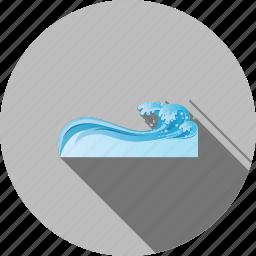 liquid, nature, ocean, swimming pool, transparent, water, wet icon