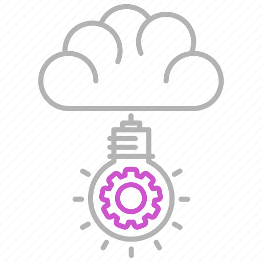 bulb, creative, engineering, idea, mind icon
