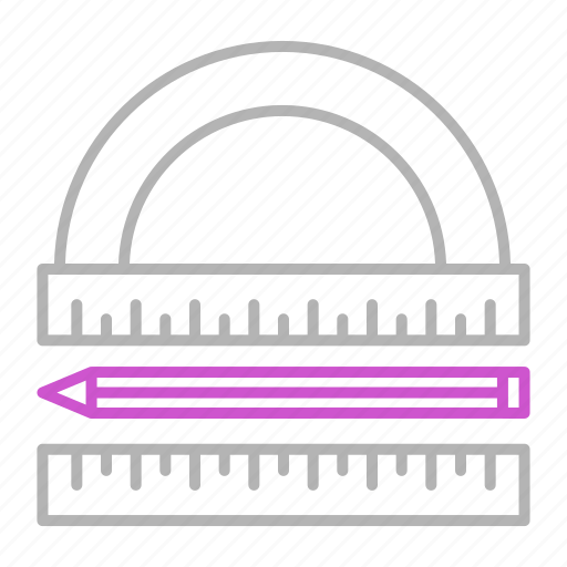 Engineering, tools, architecture, measurement icon