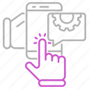 device, engineering, mobile, smartphone icon