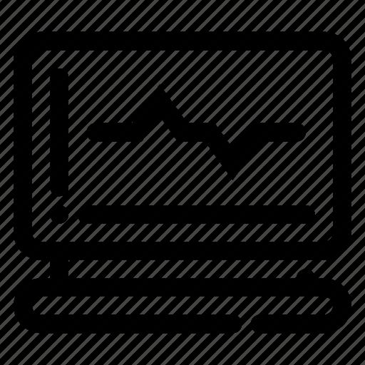 analysis, calculation, computation, data, laboratory equipment, pc icon