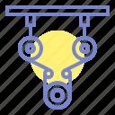 engine, engineering, mechanics icon