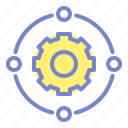connection, engineering, setting icon
