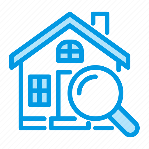 Estate, house, inspection, real icon - Download on Iconfinder