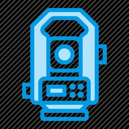 geodesy, survey, tacheometer icon
