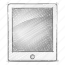engineering, hand drawn, ipad, sketch icon