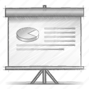 engineering, hand drawn, presentation, sketch icon